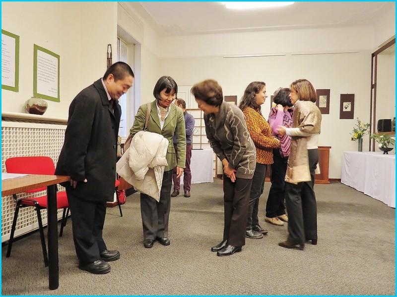 La visita del Cosole Generale Sig.ra Kyoko Koga